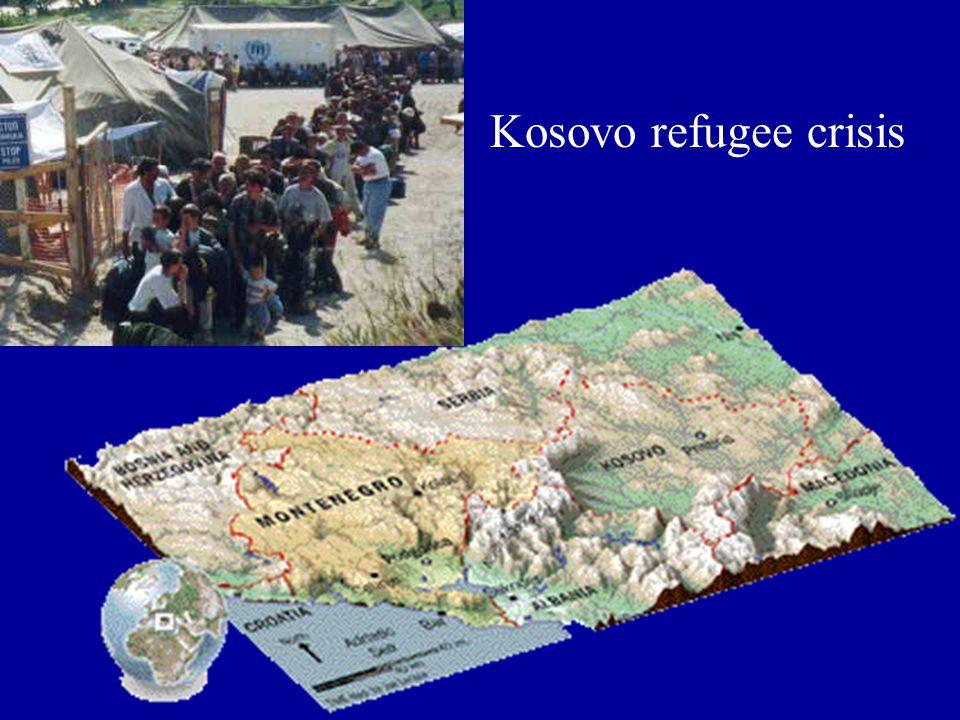 Kosovo refugee crisis