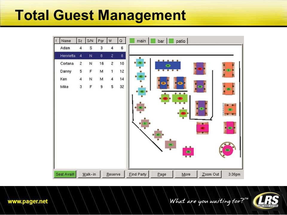 www.pager.net Total Guest Management