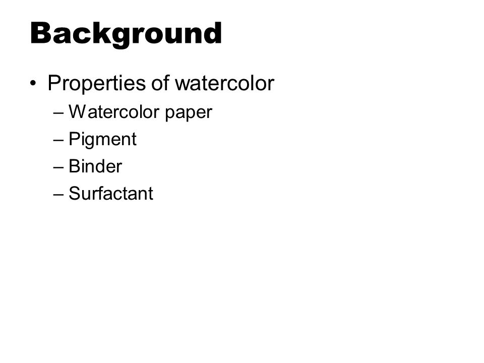 Applications 2. Automatic image watercolorization –Brushstroke planning