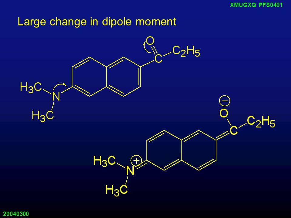 20040300 XMUGXQ PFS0401 对甲基苯胺萘磺酸 水中弱荧光, 500 nm; 疏水环境强荧光, 413 nm