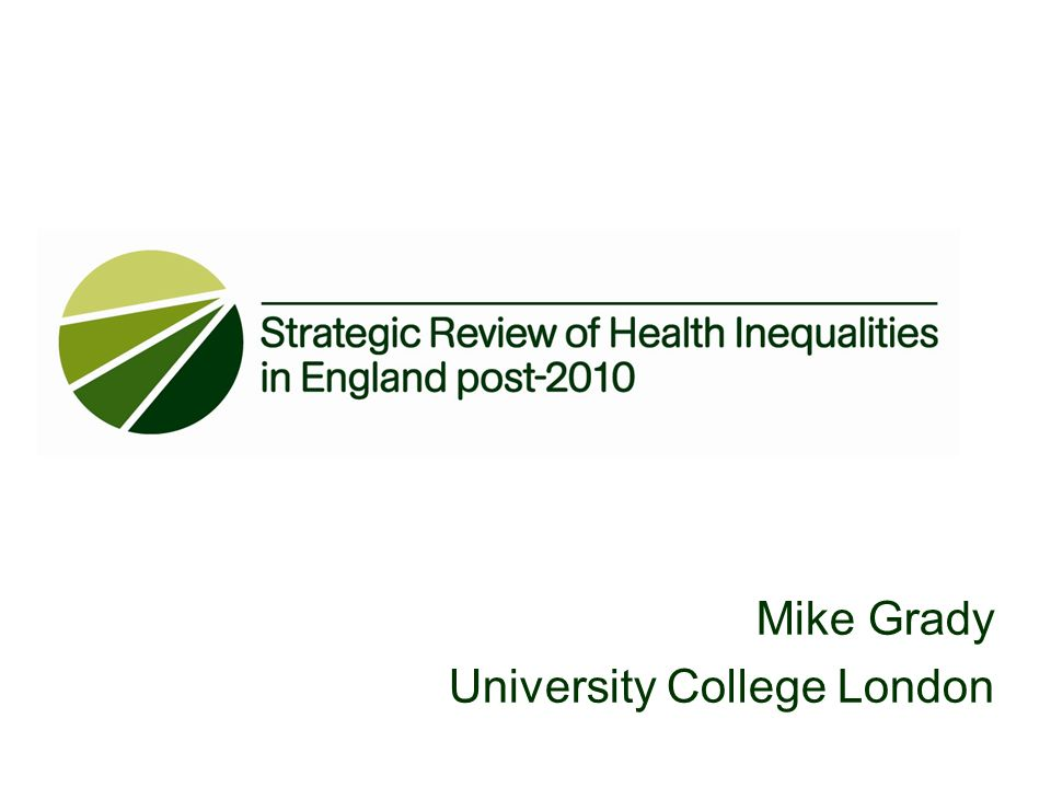 Mike Grady University College London