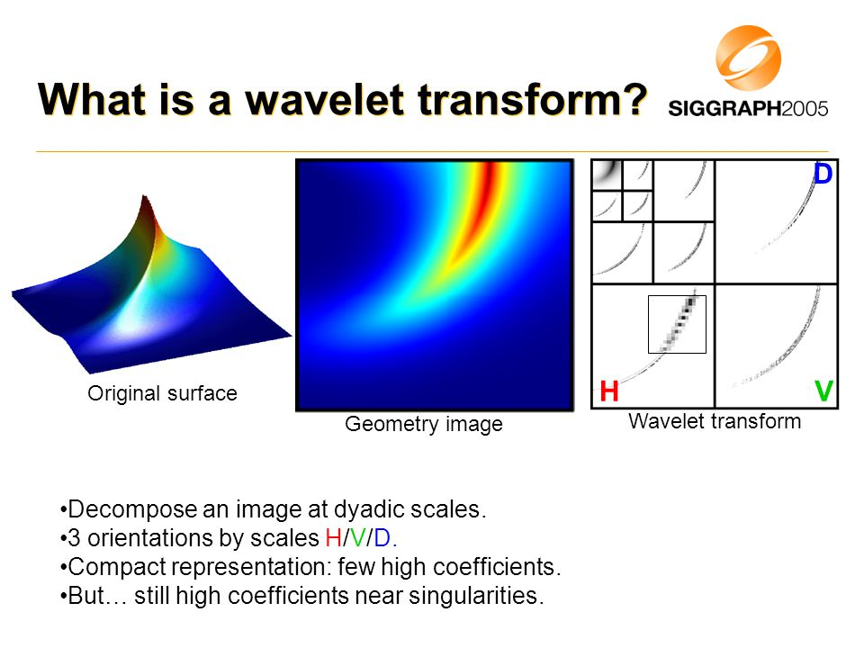 What is a wavelet transform.