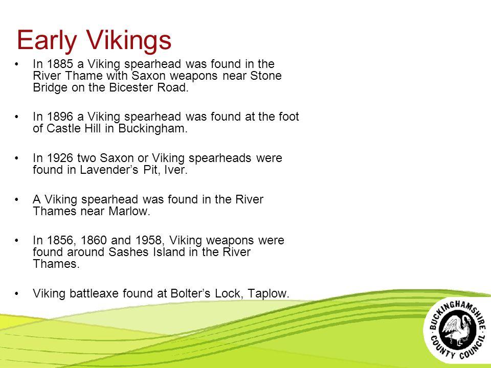 Early Saxons Walton