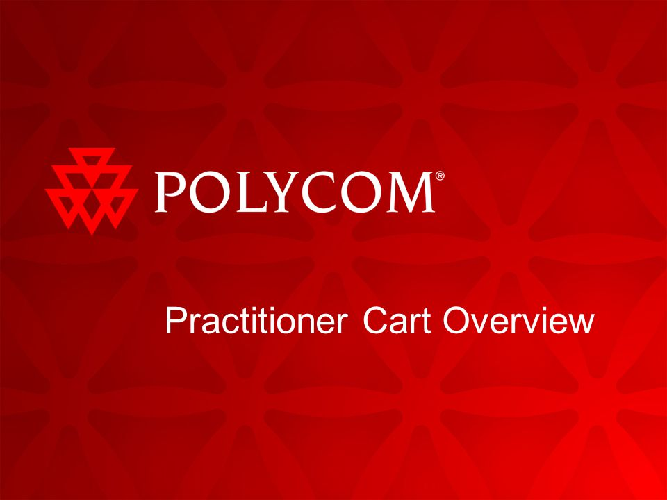 94/29/2015 | Polycom Confidential Next Generation TeleHealth Carts Polycom will be announcing a new mobile healthcare telepresence solution in early April at the Healthcare Information & Management Systems Society (HIMSS) exposition This solution reinforces Polycom s commitment to leadership in this space
