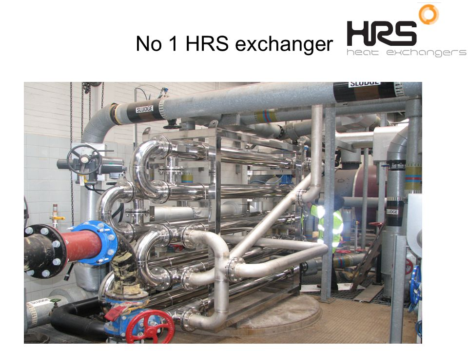 No 1 HRS exchanger