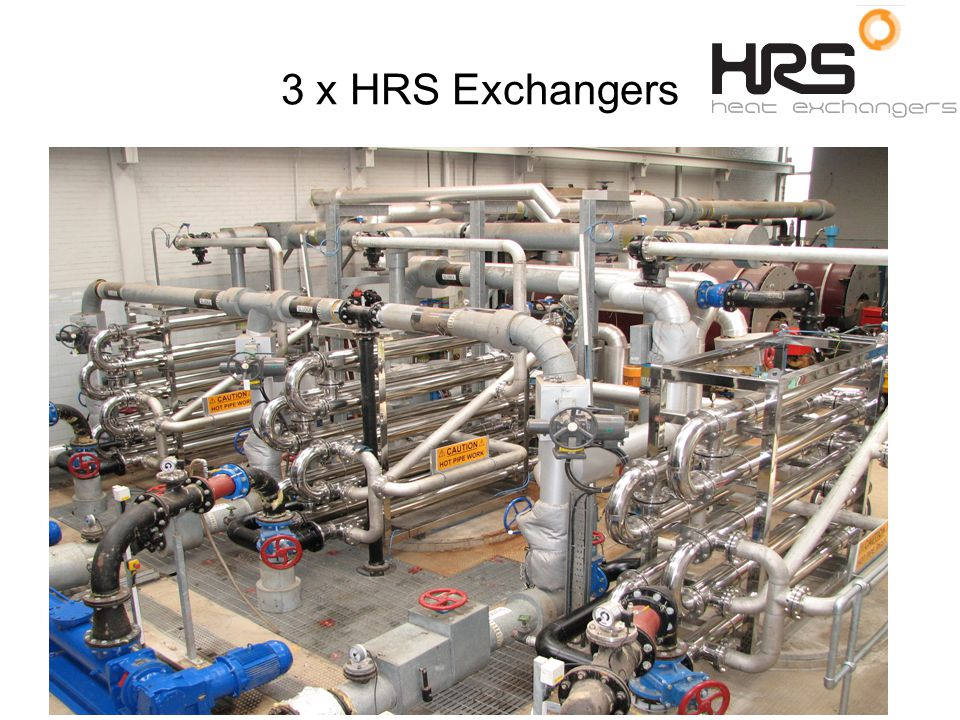 3 x HRS Exchangers