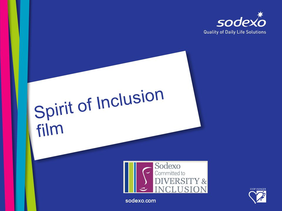 sodexo.com Spirit of Inclusion film