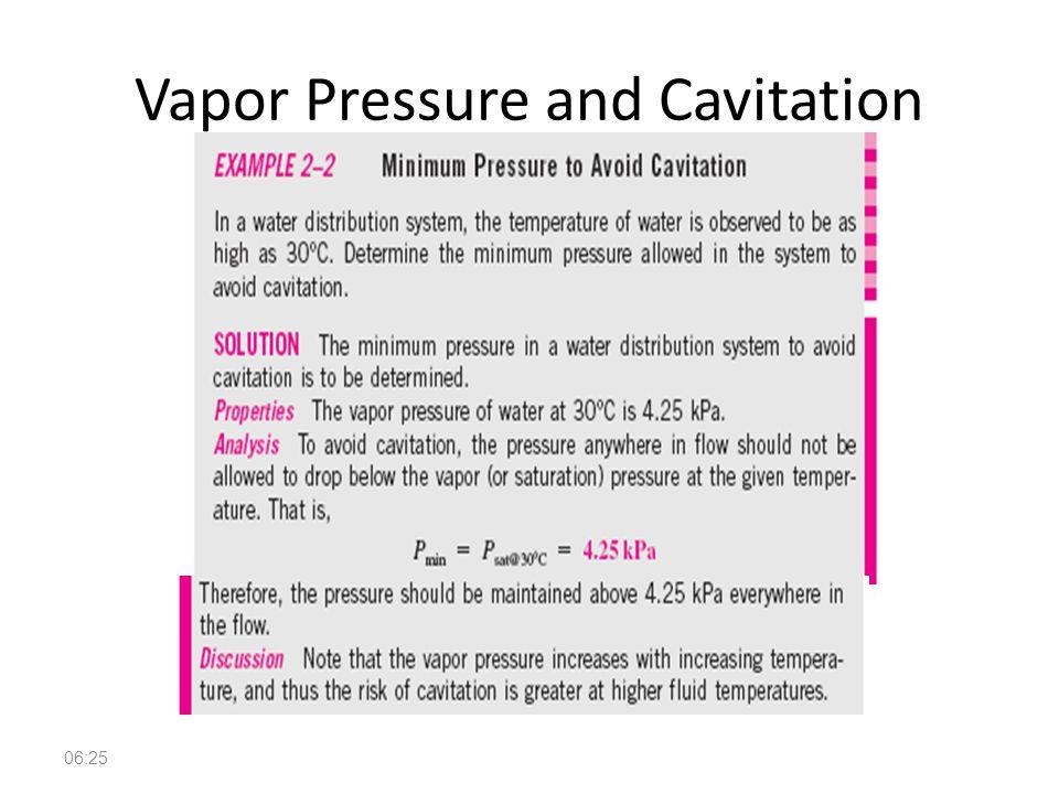 Fundamentals of Fluid Mechanics 16 Vapor Pressure and Cavitation 06:26