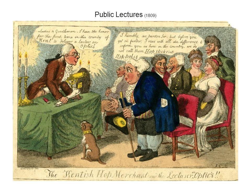 Public Lectures (1809)
