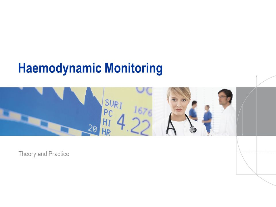 Haemodynamic Monitoring Theory and Practice