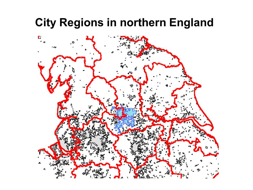 City Regions in northern England