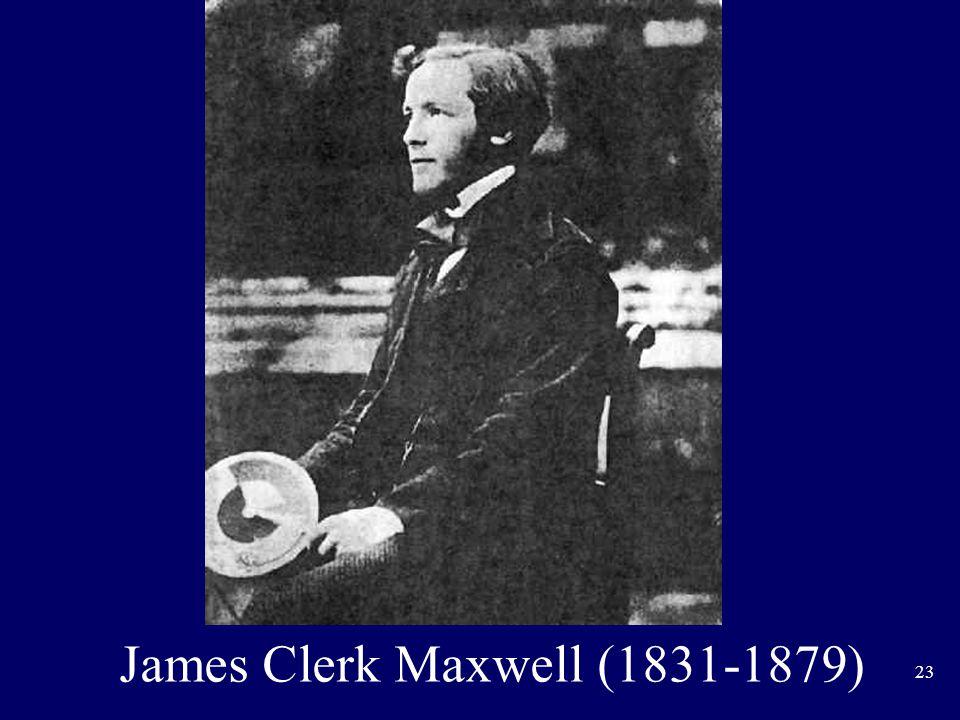 23 James Clerk Maxwell (1831-1879)