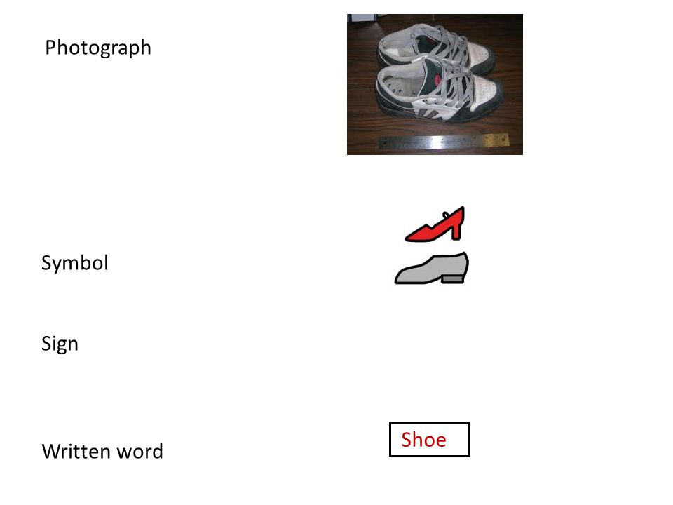 Photograph Symbol Sign Written word Shoe