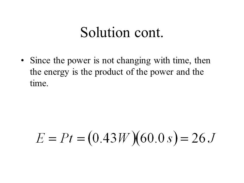 Solution cont.