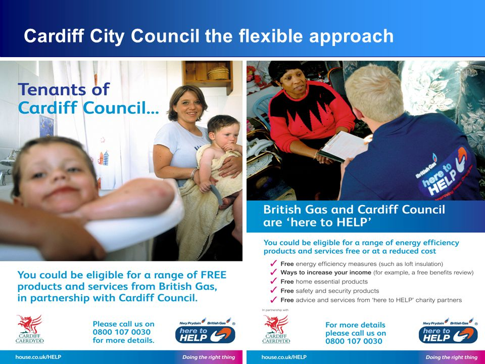 Cardiff City Council the flexible approach