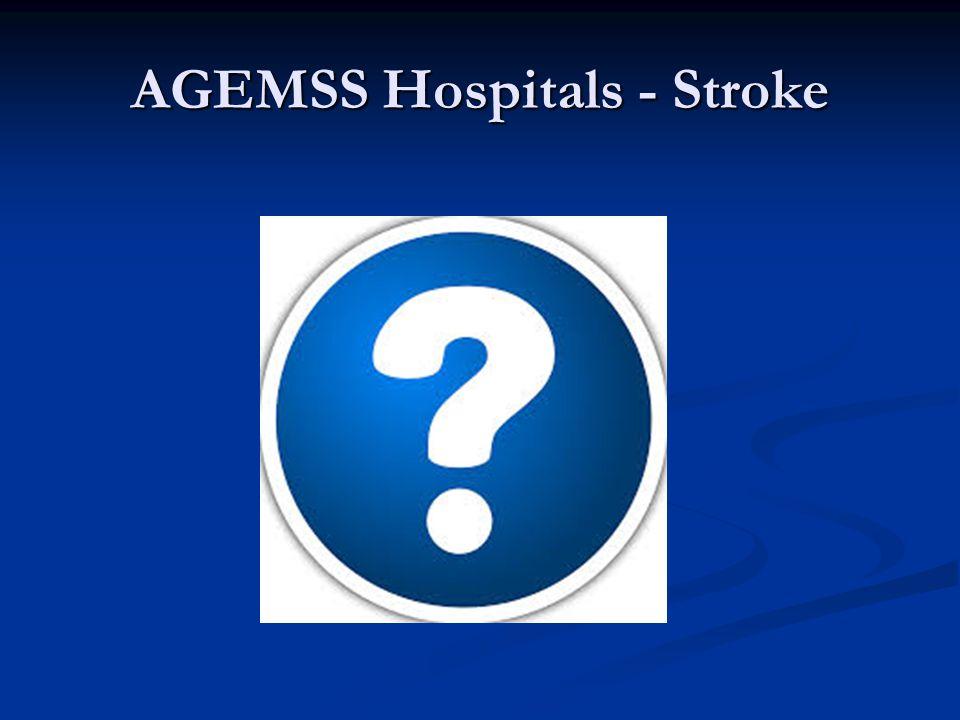 AGEMSS Hospitals - Stroke
