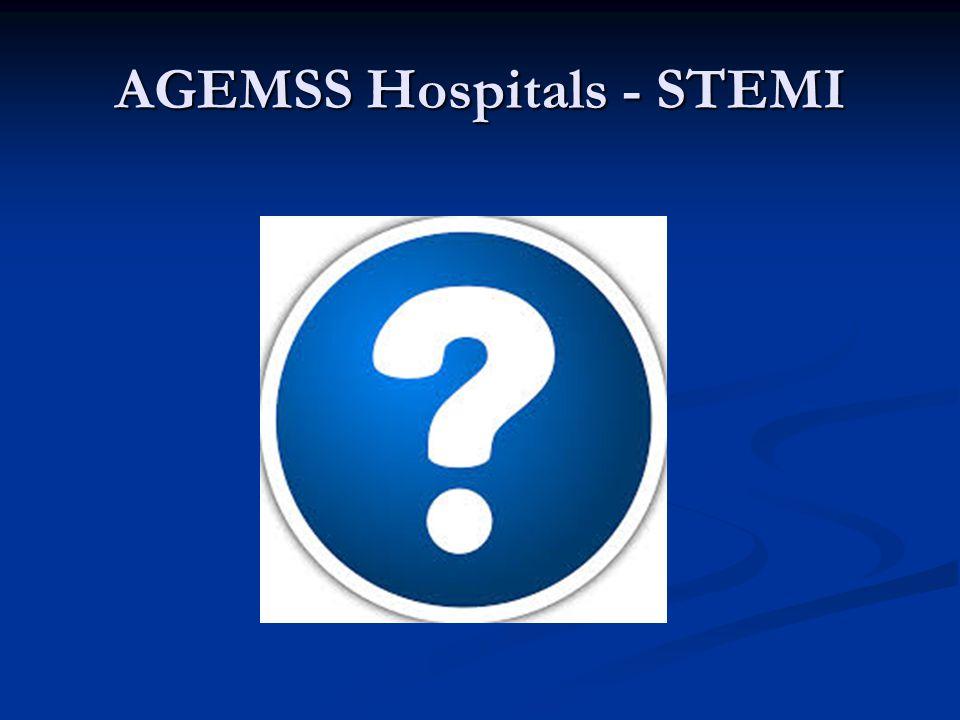 AGEMSS Hospitals - STEMI