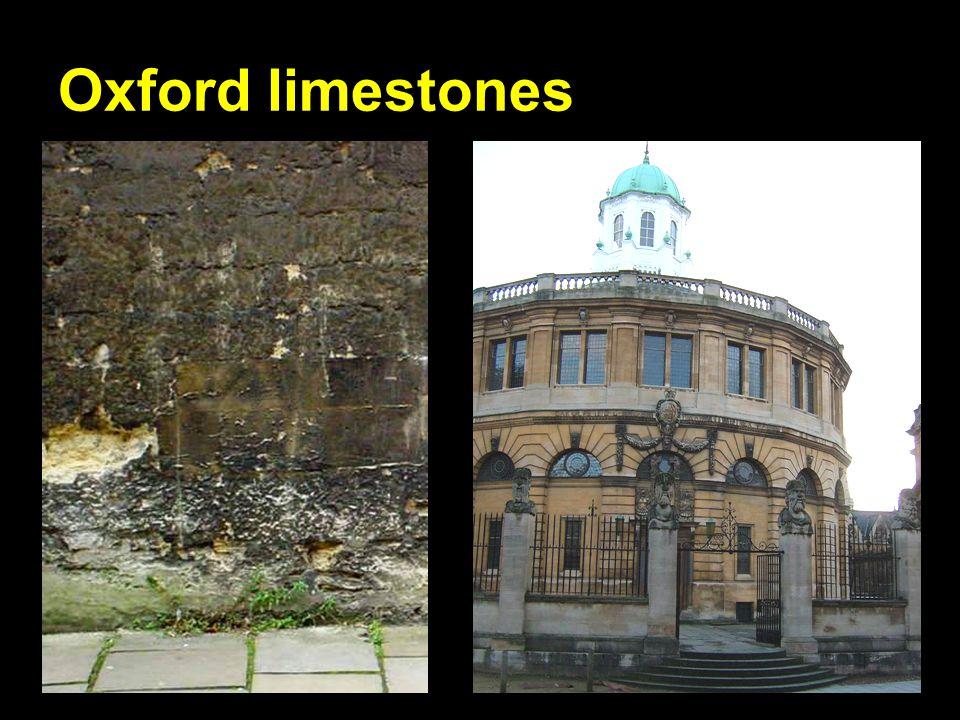 Oxford limestones