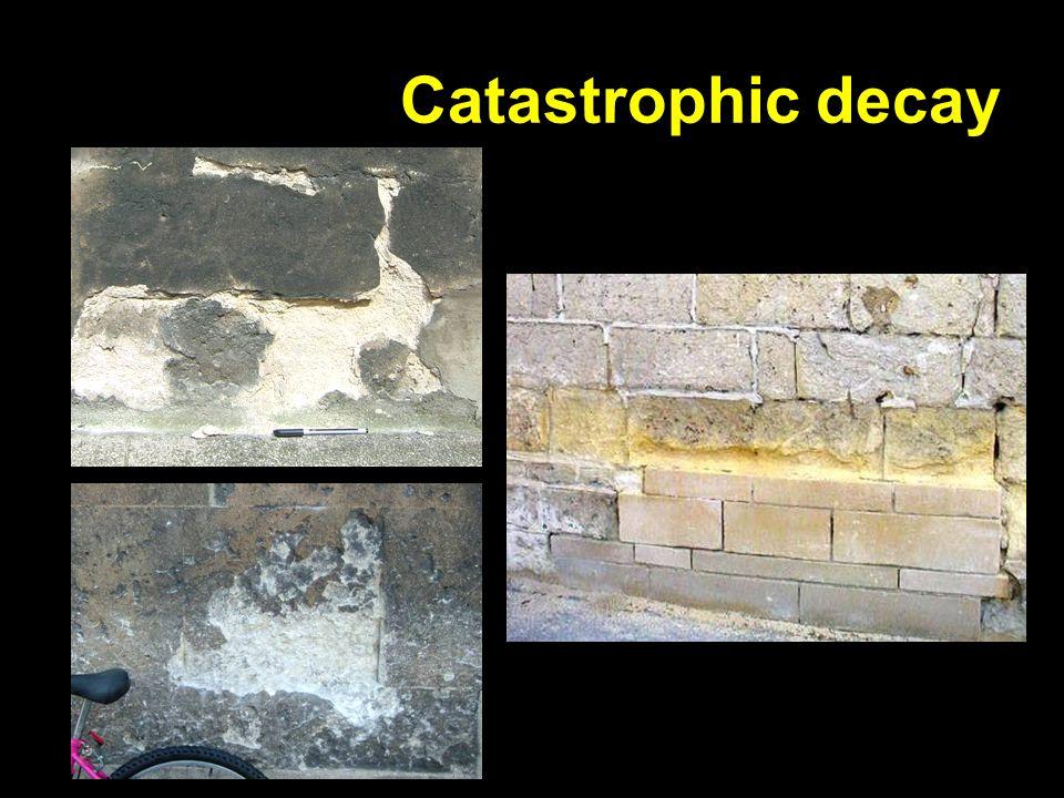 Catastrophic decay