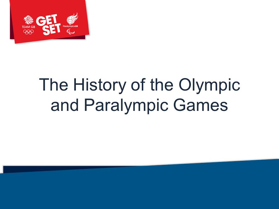 The History of the Olympic and Paralympic Games Library: Assemblies