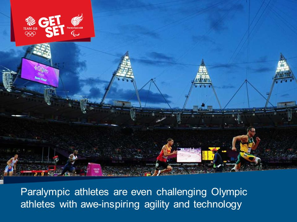 Paralympic athletes are even challenging Olympic athletes with awe-inspiring agility and technology