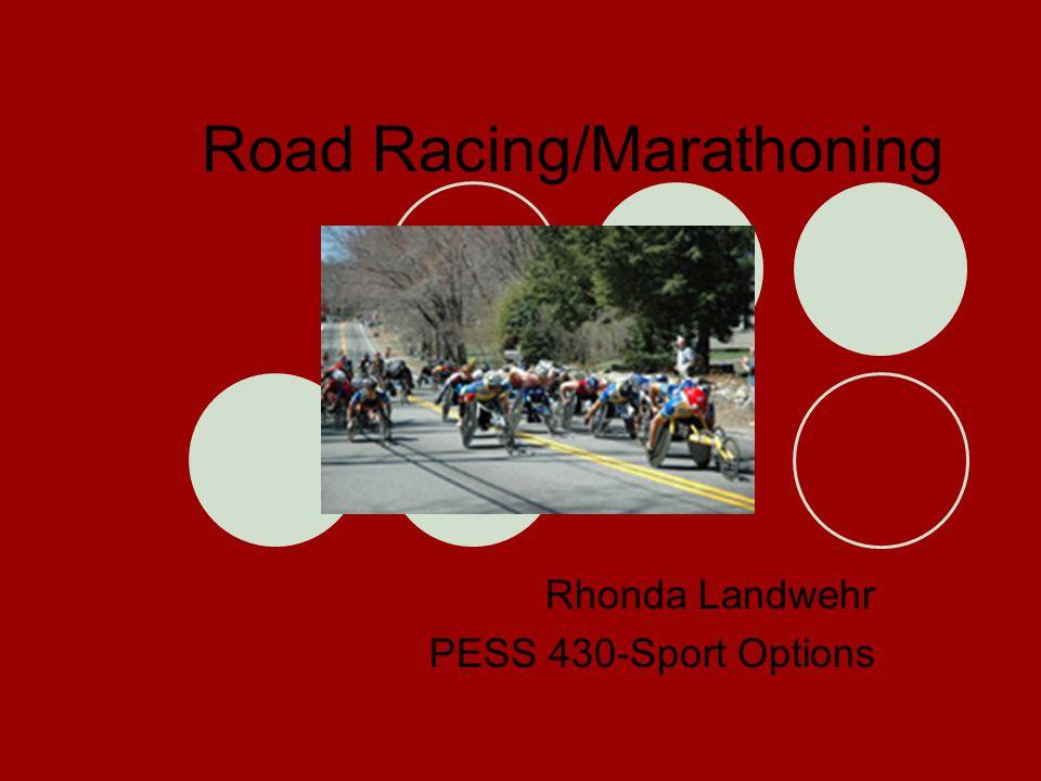 Road Racing/Marathoning Rhonda Landwehr PESS 430-Sport Options