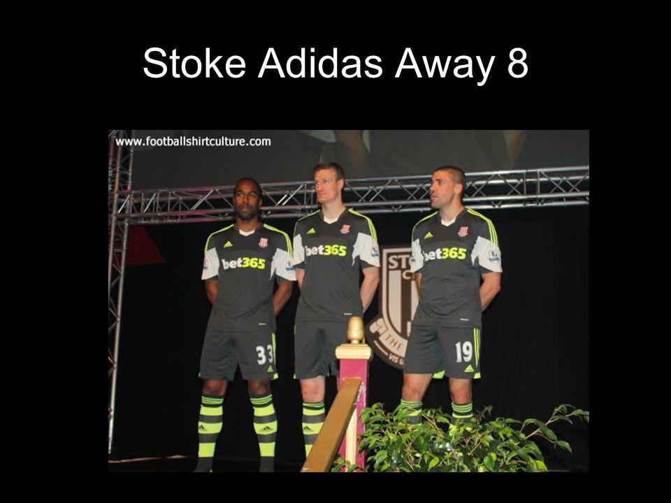 Stoke Adidas Away 8