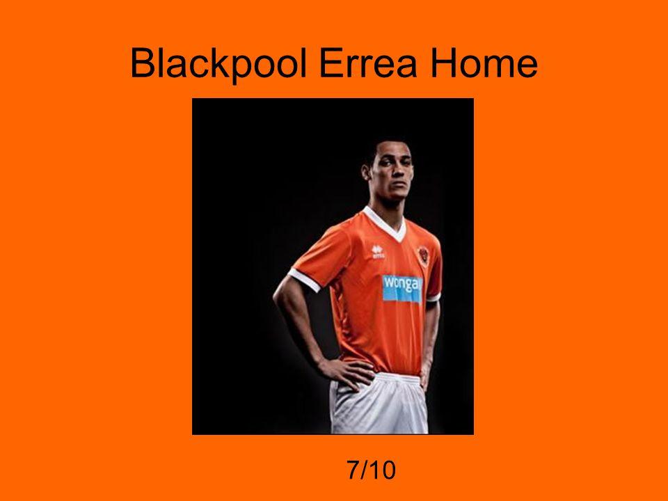 Blackpool Errea Home 7/10