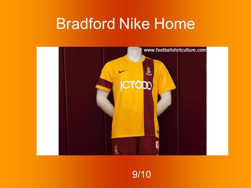 Bradford Nike Home 9/10