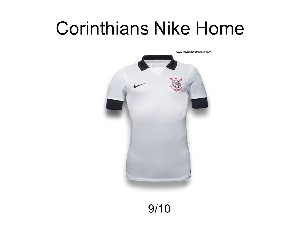 Corinthians Nike Home 9/10