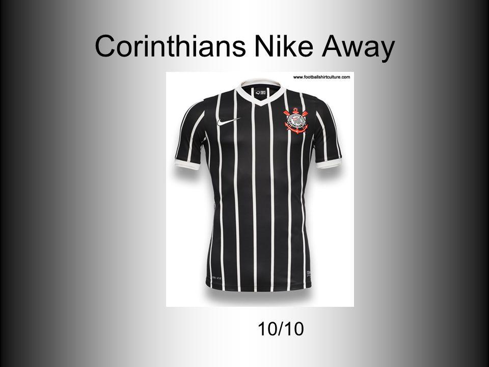 Corinthians Nike Away 10/10