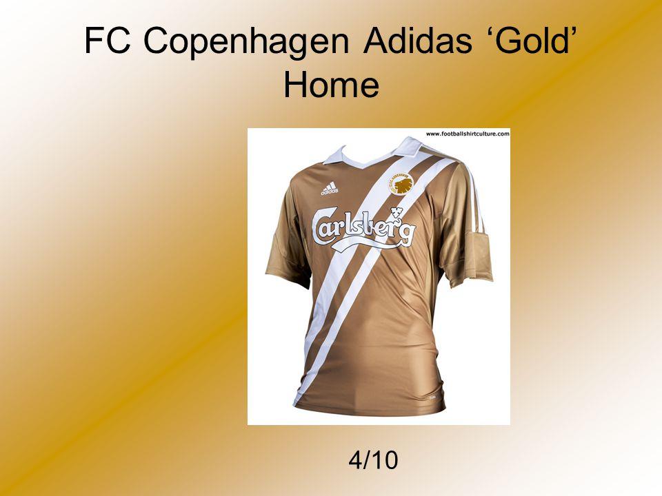 FC Copenhagen Adidas 'Gold' Home 4/10