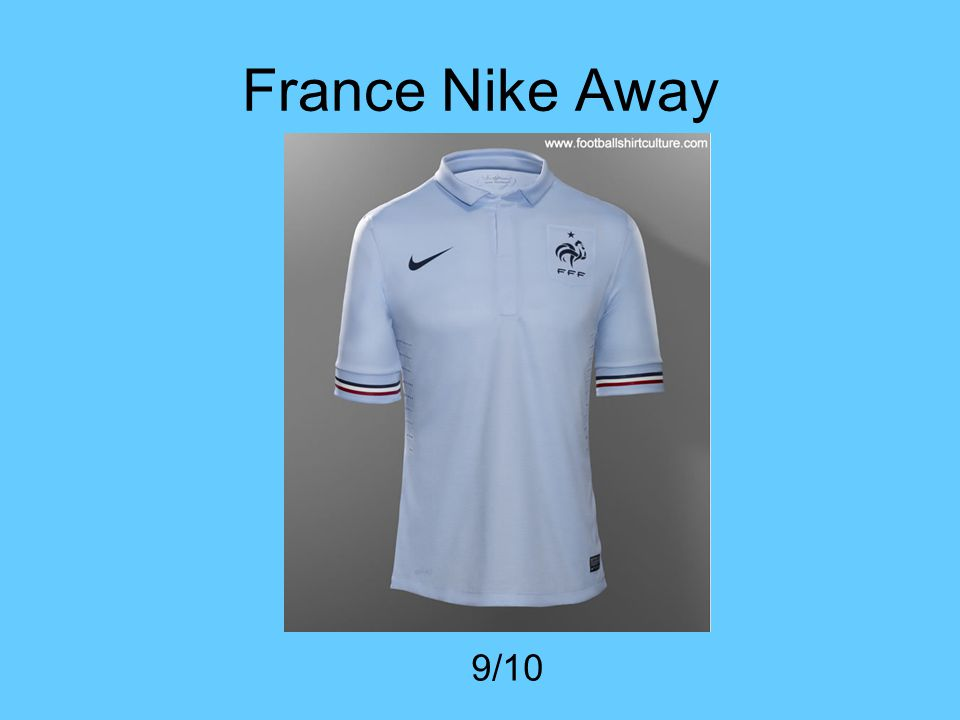 France Nike Away 9/10