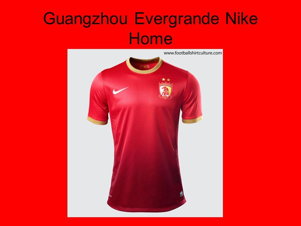 Guangzhou Evergrande Nike Home