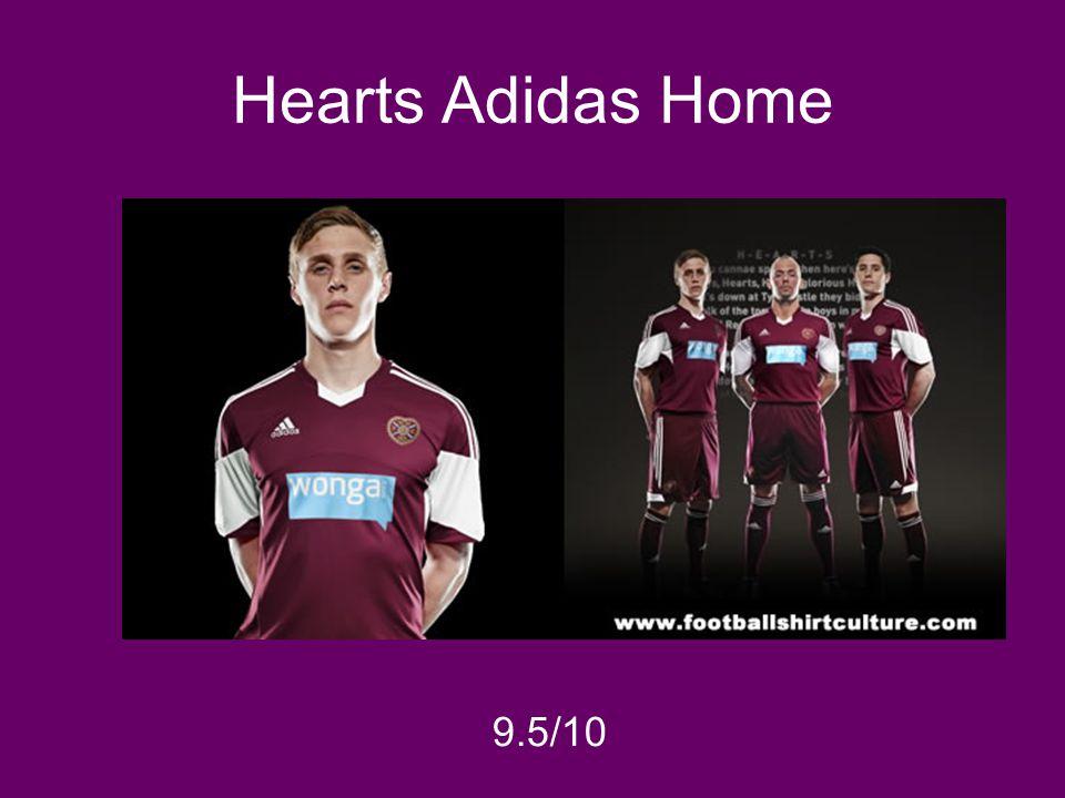 Hearts Adidas Home 9.5/10