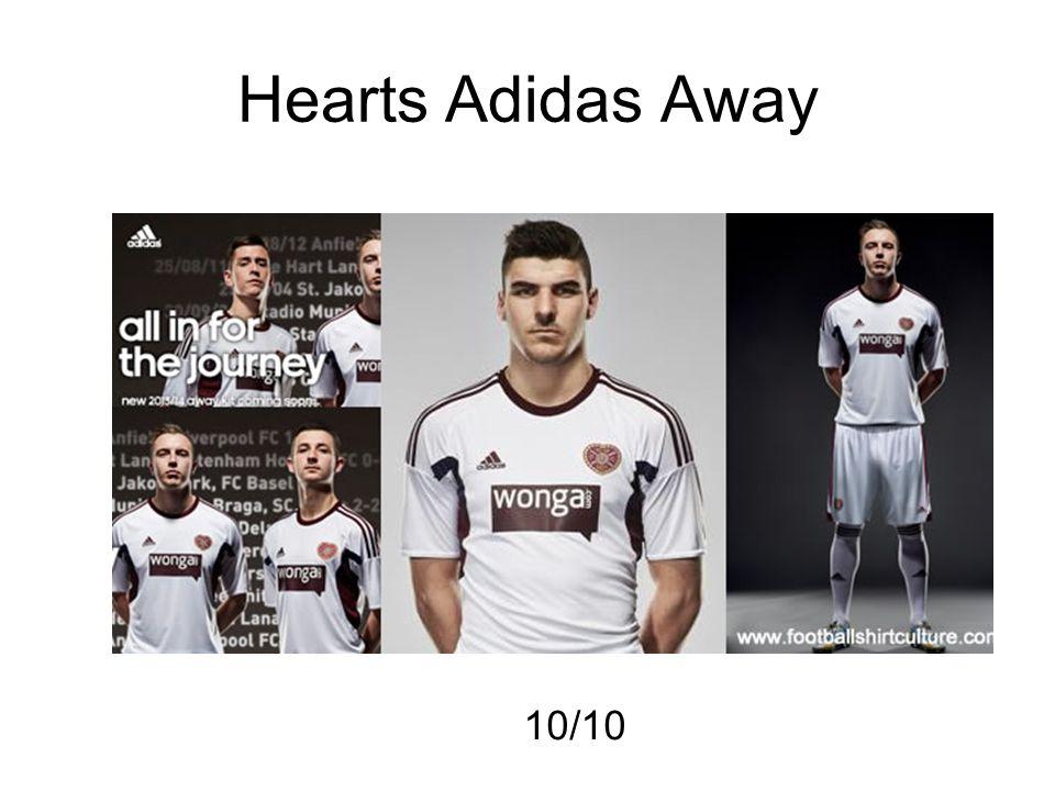 Hearts Adidas Away 10/10
