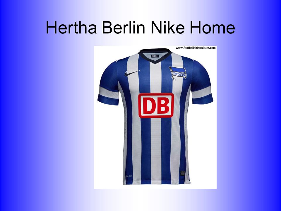 Hertha Berlin Nike Home
