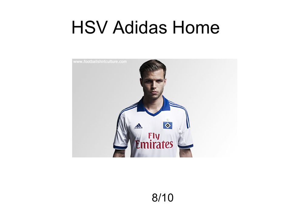 HSV Adidas Home 8/10