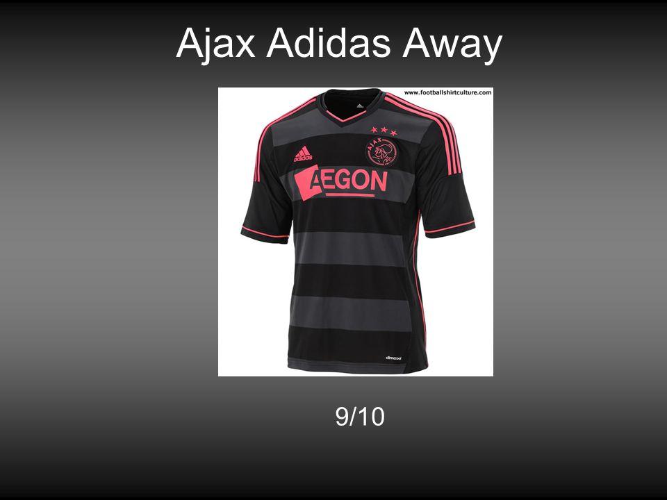 Ajax Adidas Away 9/10