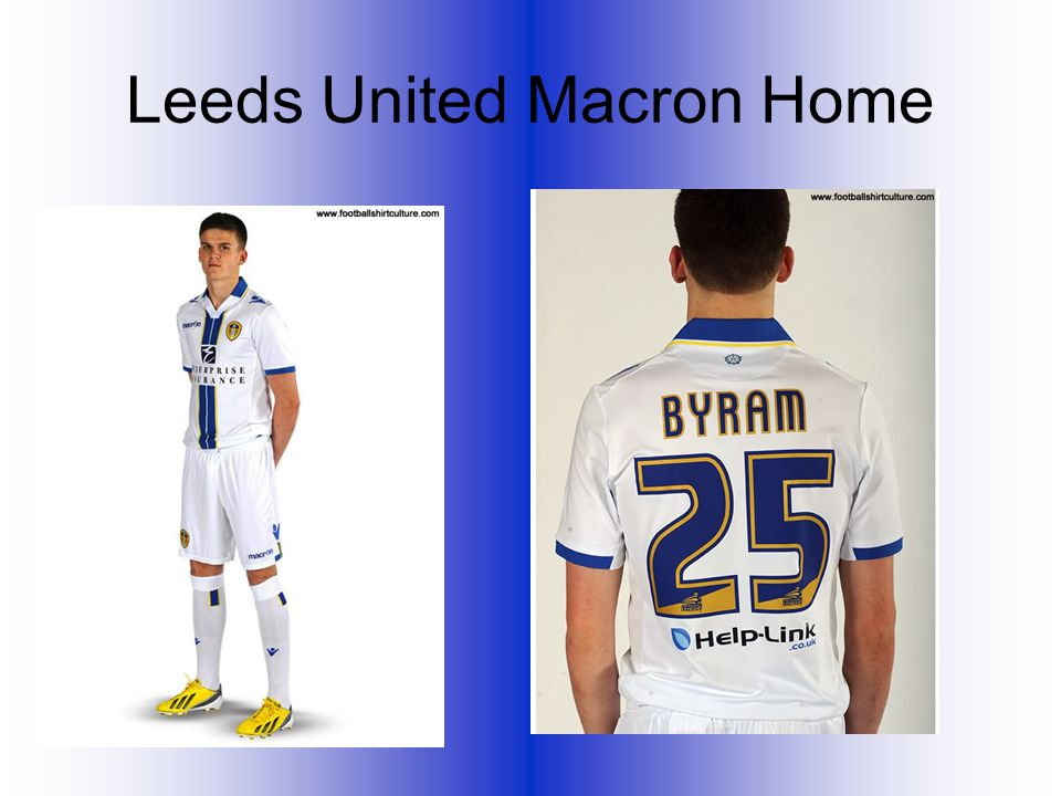 Leeds United Macron Home