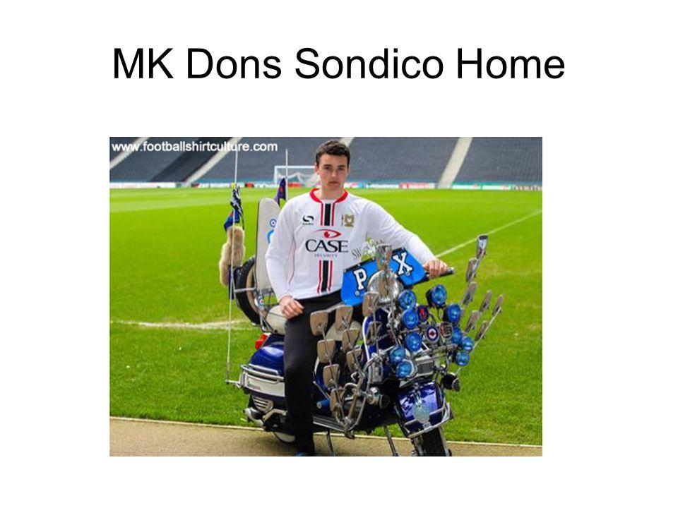 MK Dons Sondico Home