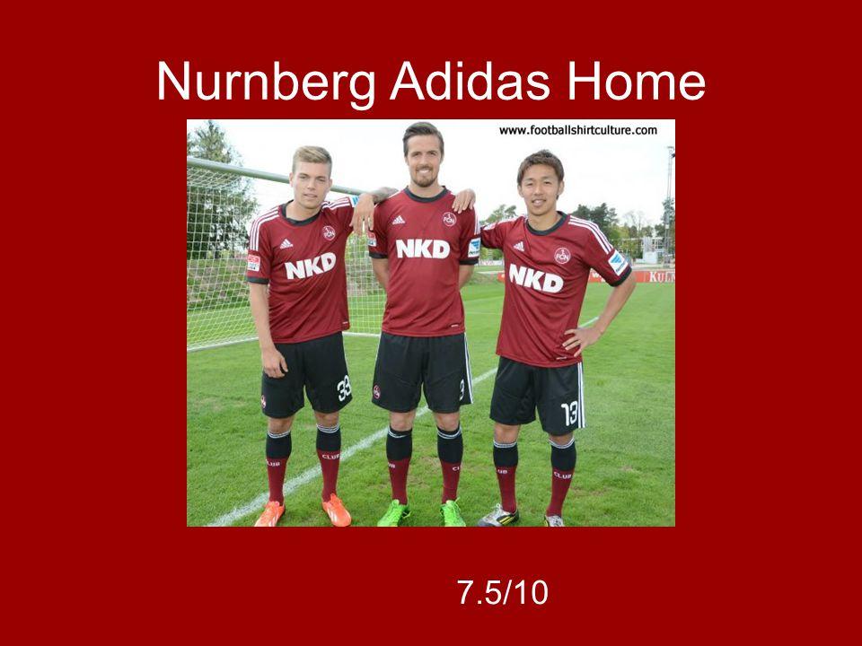 Nurnberg Adidas Home 7.5/10