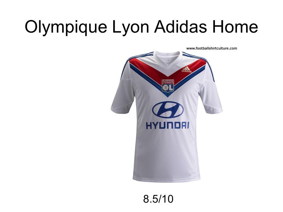 Olympique Lyon Adidas Home 8.5/10