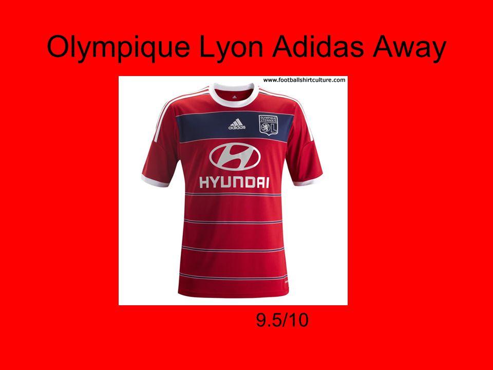 Olympique Lyon Adidas Away 9.5/10