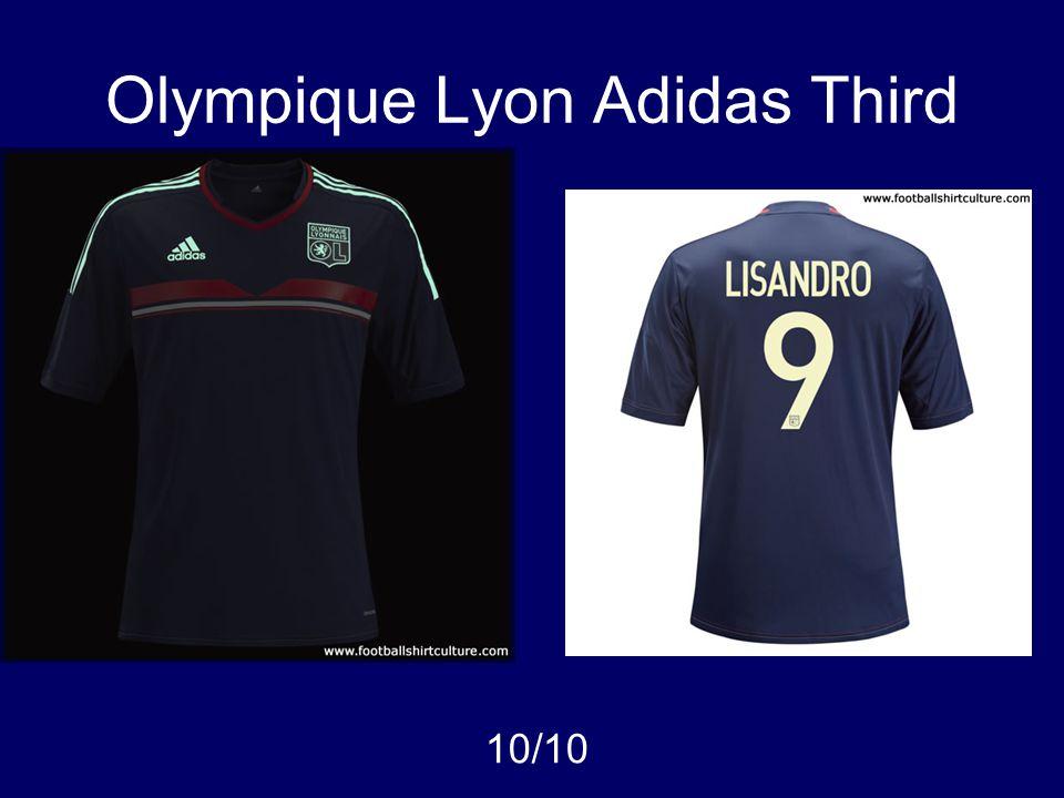 Olympique Lyon Adidas Third 10/10
