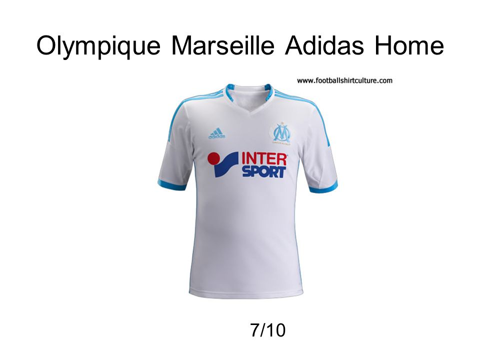 Olympique Marseille Adidas Home 7/10
