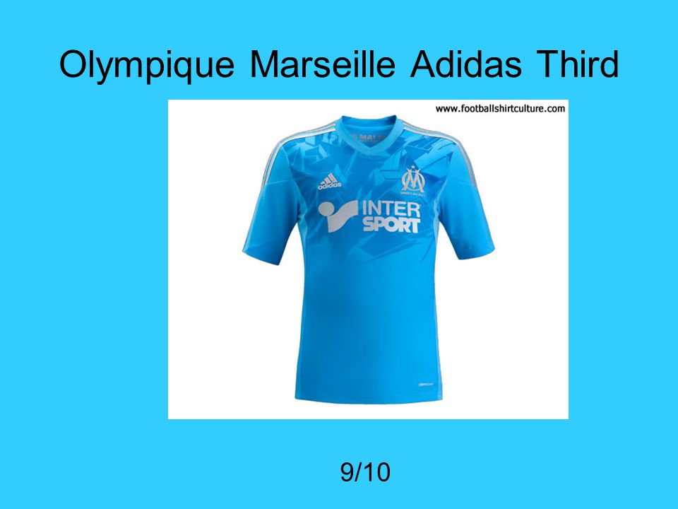 Olympique Marseille Adidas Third 9/10