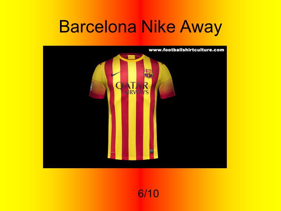 Barcelona Nike Away 6/10
