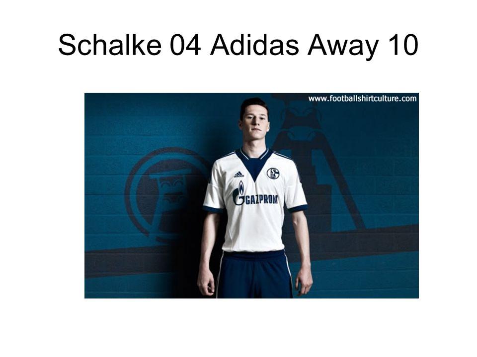 Schalke 04 Adidas Away 10