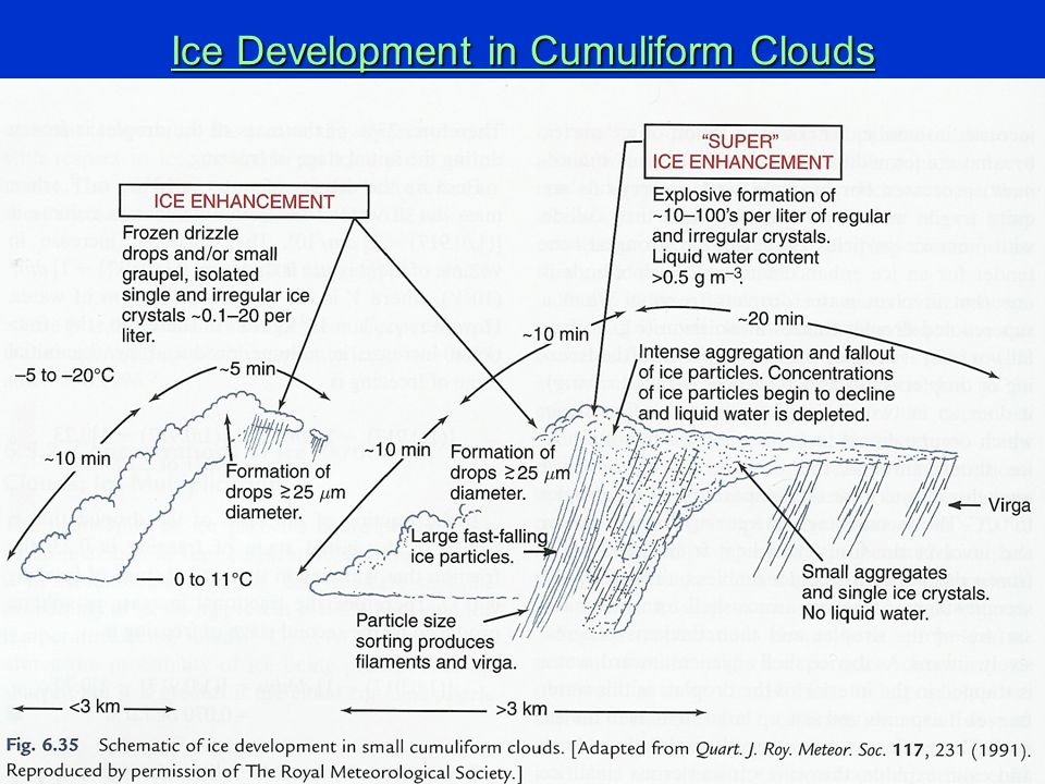 4/29/201530 Ice Development in Cumuliform Clouds
